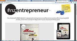 New Zealand Online Entrepreneur Magazine for SME, Small Business