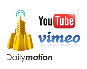 YouTube DailyMotion Vimeo Top 3 Video Online Marketing Upload Sites