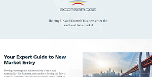 Scotsbridge rade links between Scotland and Southeast Asia