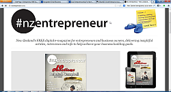 New Zealand Online Entrepreneur Magazine for SME, Small Business