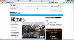 Her World Brides Wedding Online Magazine, Singapore