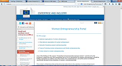 Women Entrepreneurship Europe Portal and Listing