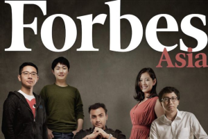 Forbes Magazine Asia 30 under 30 in 2016