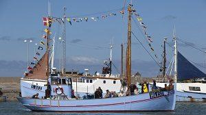 Fishing trips and deep sea water fishing Hirtshals