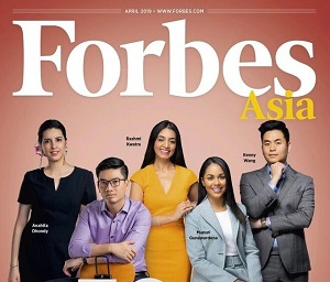 Forbes 30 Under 30 Asia 2019