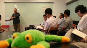 North Koreans learn about entrepreneurship in Singapore